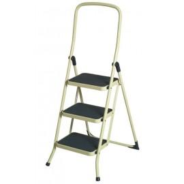Escalera Metalica Confort de 3 escalones con Goma