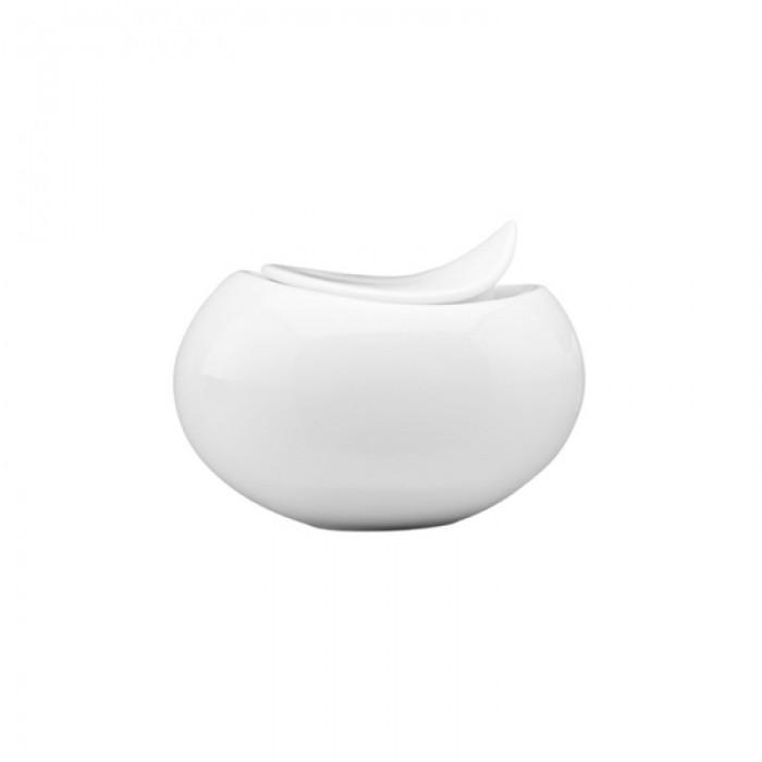 Azucarero vajilla blanco porcelana