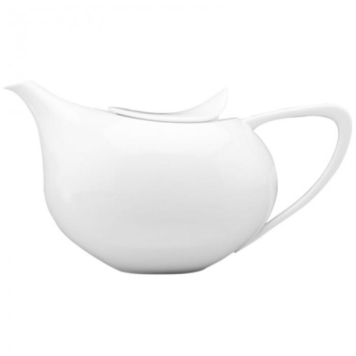 Tetera blanco porcelana