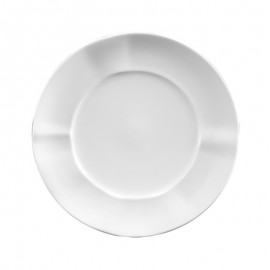 Plato Postre blanco porcelana 6 uds