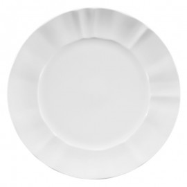 Plato Bajo blanco porcelana 30cm