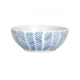 Bol de Cereales Espinas blanco y azul 6 uds